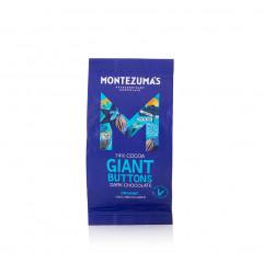 Montezuma's Chocolate - Dark 74% Organic Giant Buttons 180g