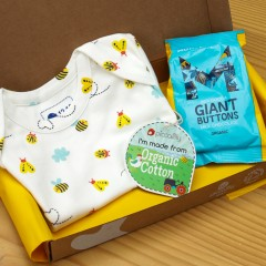 Baby Gift Box - Bodysuit & Chocolate Buttons