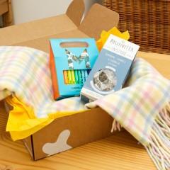 Luxury Baby Gift Box - Merino Blanket