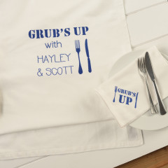 Personalised Full Table Linen Gift Set 3 Piece