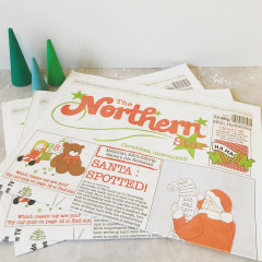The Northern Star Newspaper - Christmas Wrapping Paper