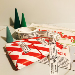 Eco friendly wrapping Paper Set
