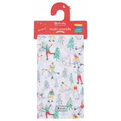 Piccalilly Baby's 1st Christmas Muslin