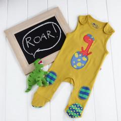 Piccalilly Organic Cotton Dinosaur  Baby Boy