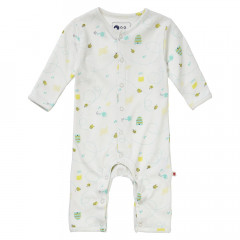 Piccalilly Honey Bee Sleepsuit Without Feet