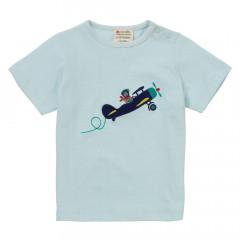 Piccalilly Blue Vintage Plane Kids T-Shirt