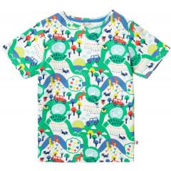 Unisex Short Sleeved Farm Theme T-Shirt