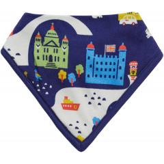 Piccalilly London Theme Baby Bib