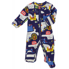 Piccalilly London Baby Sleepsuit