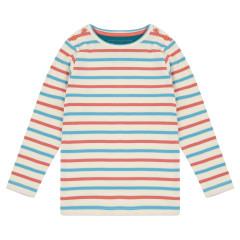 Plain Stripe Ribbed Top