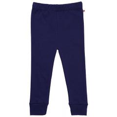 Piccalilly Navy Blue Kids Leggings