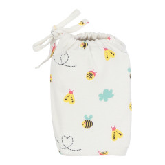 Piccalilly Fitted Moses Basket Sheet