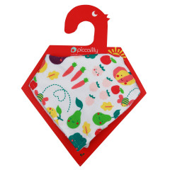 Piccalilly Grow Your Own Muslin Bib + Burp Cloth