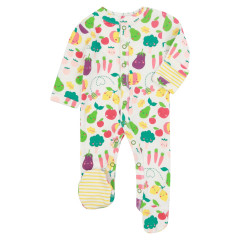Piccalilly Grow Your Own Baby Sleepsuit