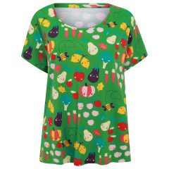 Piccalilly Green Grow Your Own Ladies T-Shirt