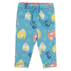 Piccalilly Blue Reversible Orangutan Trousers