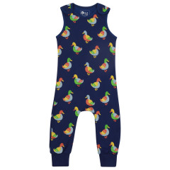 Piccalilly Duck Print Dungarees