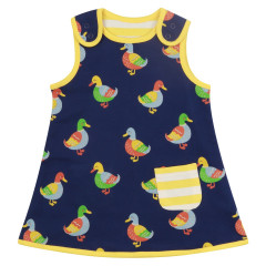 Piccalilly Blue Duck Girls Dress