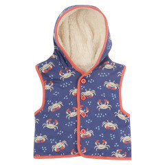 Piccalilly Sherpa Gilet for Kids