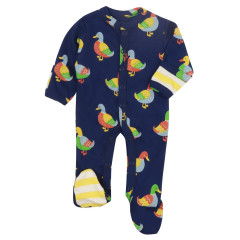 Piccalilly Baby Sleepsuit with Feet