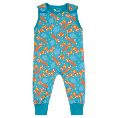 Piccalilly Fox Dungarees for Baby + Toddler