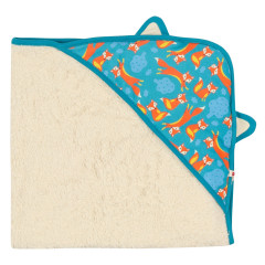 Piccalilly Fox Fleece Baby Blanket