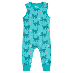 Piccalilly Cat Dungarees for Baby