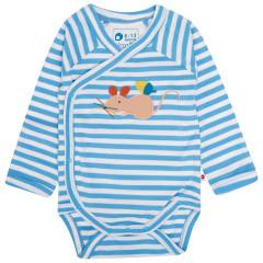 Baby Bodysuit - Fieldmouse Stripe