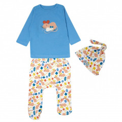 Piccalilly 3 Piece Fieldmouse Baby Outfit