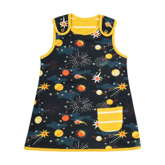 Piccalilly Solar Space Reversible Dress for Girls