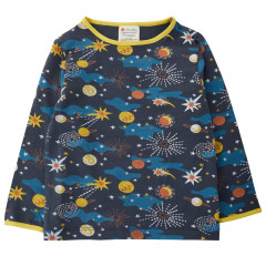 Kids Fitted Top - Solar Space