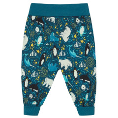 Piccalilly Blue Arctic Pull Up Trousers