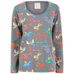 Piccalilly Women's Mythical Creature Fitted Top