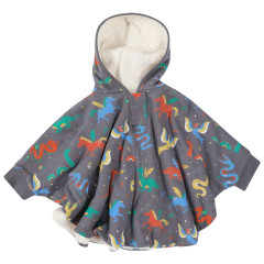 Piccalilly Kids Mythical Creatures Poncho