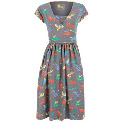 Piccalilly Mythical Creatures Wrap Dress