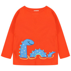 Piccalilly Loch Ness Monster Kids Top