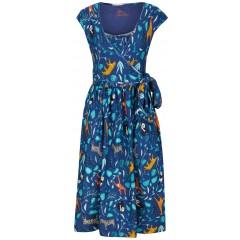 Women's Wrap Dress - Wildlife