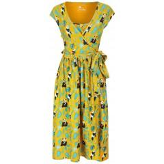 Women's Wrap Dress - Panda