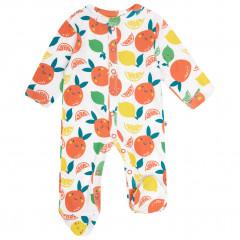 Footed Sleepsuit - Citrus