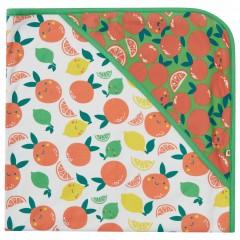 Hooded Baby Blanket - Citrus