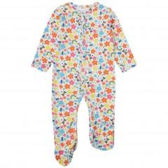 Footed Sleepsuit - Rainbow Meadow