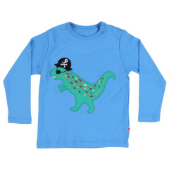 Piccalilly Top - Blue Pirate Applique