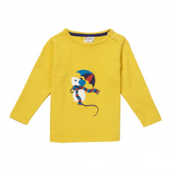 Piccalilly Mustard Yellow Kids Top