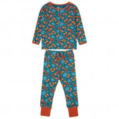 Upcycled Kids Pyjamas - Foxes All Over Print