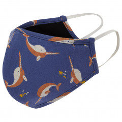 Adults Face Covering - Narwhal