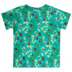 All Over Print T-Shirt- Ladybird