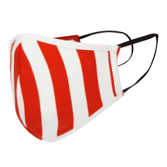 Kids Face Covering - Red Stripe