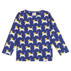 Piccalilly Long Sleeve Hello Tiger Top