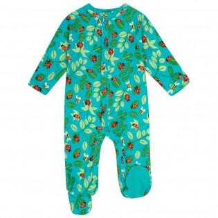 Footed Sleepsuit - Ladybird