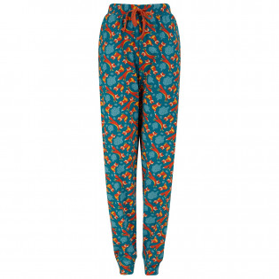 Upcycled Adults Loungewear Joggers - Foxes